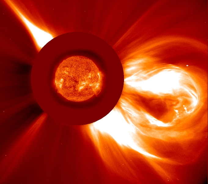 A Coronal Mass Ejection