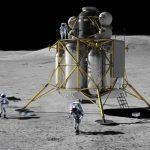 Artist impression of the Altair Lander. Image credit: NASA