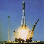 Vostok 1 launch.