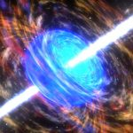 Artist impression of a gamma ray burst. Image credit: NASA