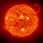 The Sun. Image credit: NASA