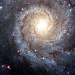 Spiral galaxy M74. Image credit: Hubble