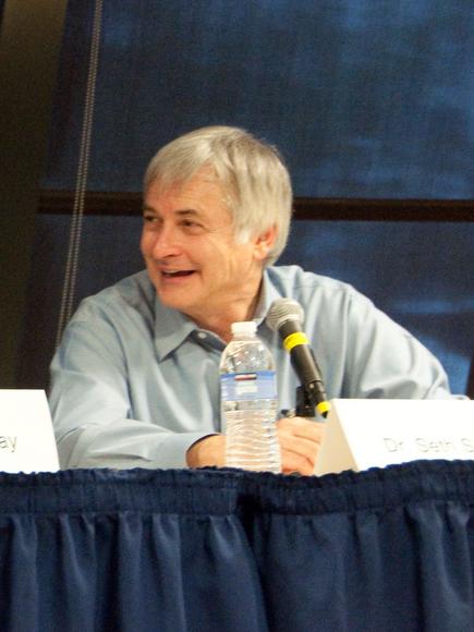 Seth Shostak at Dragon*Con. Photo courtesy Chuck Tomasi