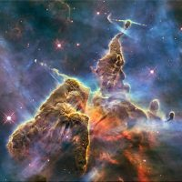 Carina Nebula. Image Credit: Hubble